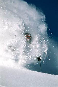 I would love me some powder, right now.