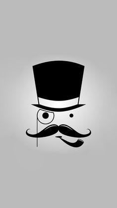 Cartoon-Mustache-Man