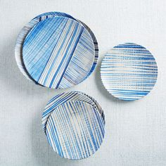 Brush-stroked stripes are right on trend this season.