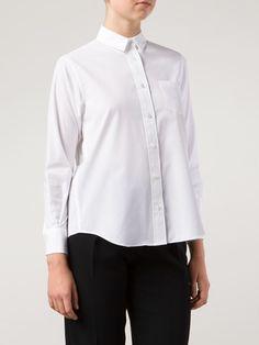 Sacai Luck Pleated Back Blouse - Donne Concept Store - Farfetch.com
