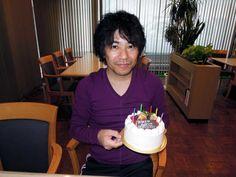 フィールドワーク中に誕生日を迎えました(2011年9月18日撮影).