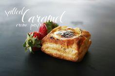 Une-deux senses: Salted Caramel Crème Pastries