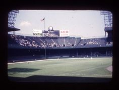 Beautiful photo from the 60's of Tiger Stadium!