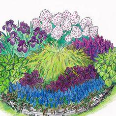 ´Kesäheinä´ perennapenkki - Viherpeukalot Garden Plants, Cottage, Artwork, Flowers, Outdoor, Ideas, Art Work, Work Of Art, Outdoors
