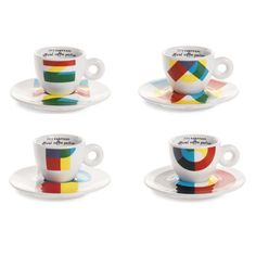 Special edition Illy cups for the Milan 2015 Expo.  Gorgeous.  Other options on the Illy website.