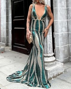 Sexy Dresses, Evening Dresses, Formal Dresses, V Neck, Autumn, Winter, Summer, Outfits, Shopping