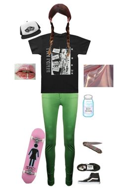 """""""Rebel girl"""" by killjoyidiotyoungblood ❤ liked on Polyvore featuring Vans and Westbound"""