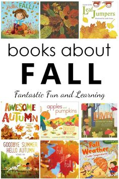 Books About Fall. 20 Favorite Fall Books for Kids. Fun autumn books to read aloud in preschool and kindergarten - Education and lifestyle Preschool At Home, Preschool Kindergarten, Free Preschool, Preschool Crafts, Preschool Activities, Pre-school Books, Books To Read, Flip Books, Library Books