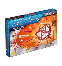 Geomag klocki Color - 64 elementy https://pulcino.pl/geomag/85-geomag-klocki-color-64-elementy.html