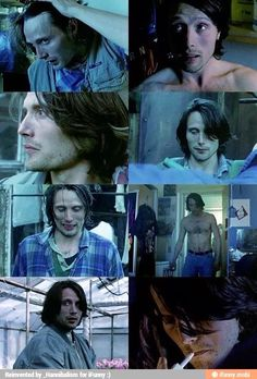 Mads with long hair!