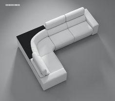 Sofa Cumbed Design, Corner Sofa Design, Corner Sofa Living Room, Living Room Sofa Design, Wooden Sofa Designs, Sofa Set Designs, Diy Living Room Furniture, Bedroom Furniture Design, L Shaped Sofa Designs