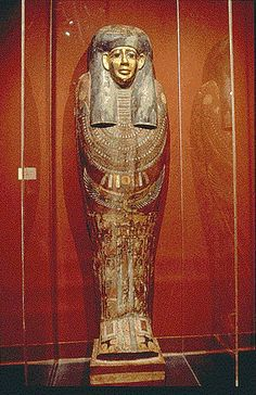 Institute of Eqyptian Art and Archaeology :: Coffin Lid of Irtw-irw (color) :: University of Memphis