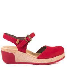 Spring has sprung with El Naturalista Love! Inspired with nature, this pair is made of natural materials and the comfortable cork insole will allow you to walk effortlessly. The Mary Jane silhouette will look great with a flowy skirt for those warmer days.   FREE Shipping in the contiguous USA Women's mary jane wedges Made in Spain Soft vegetable-tanned leather upper with a matte finish Leather upper and lining with recycled cork insole Eco-friendly natural rubber sole 2 inch wedge heel B...