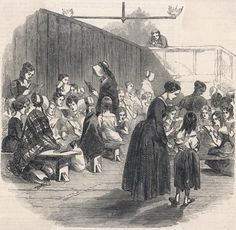 """BBC - Primary History - Victorian Britain - A """"ragged school"""" for girls"""