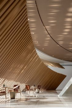 The Florescence in Guangzhou, China by Karv One Design on Behance One Design, Wall Design, Curved Walls, Guangzhou, Commercial Interiors, Interior Design Living Room, Showroom, Architecture Design, Real Estate