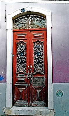 Portuguese Doors by anthonyfalla, via Flickr