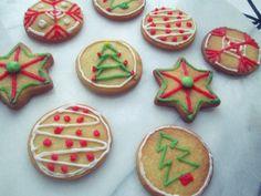 makkelijke kerstkoekjes Food Vans, High Tea, Christmas Cookies, Holiday Recipes, Nom Nom, Bakery, Food And Drink, Xmas, Sweets