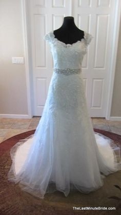 Mori Lee 1960: buy this dress for a fraction of the salon price on PreOwnedWeddingDresses.com