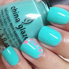 Pretty color, but I also like the little bubbles on the..on the pink and the ring finger