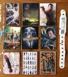 Kianna's Blog: The Walking Dead Pocket Letter