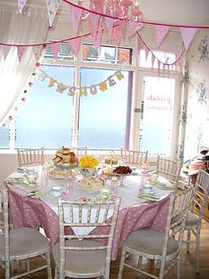 Baby shower at Tea Party, London