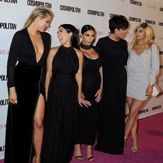 #FBF with my girls at the @cosmopolitan 50th anniversary celebration last October! #cosmoturns50 #family #love #missedyoukendall  #krisjenner #krisisms