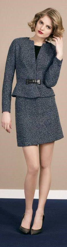 Paule Ka 2015 women fashion outfit clothing style apparel @roressclothes closet ideas