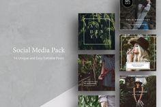 Social Media Pack by Ruben Stom on @creativemarket