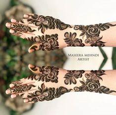 Henna Hand Designs, Dulhan Mehndi Designs, Mehndi Designs Finger, Pretty Henna Designs, Modern Henna Designs, Khafif Mehndi Design, Rose Mehndi Designs, Latest Bridal Mehndi Designs, Arabic Henna Designs