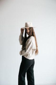 cd71bc5df7 GIGI PIP Hats for Women- PRE-ORDER Monroe Oatmeal - Women s Rancher Hat-