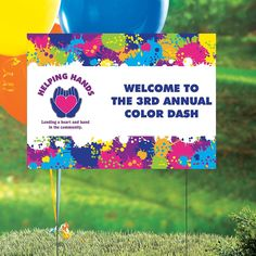 Color+Run+Custom+Photo+Yard+Sign+-+OrientalTrading.com