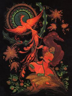 """Palekh - the birthplace of the Firebird"""