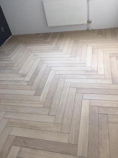 Wood Tile Pattern, Herringbone Tile Pattern, Herringbone Wooden Floors, Faux Wood Tiles, Natural Oak Flooring, 2 Storey House Design, Floor Layout, Craftsman Style Homes, Floor Patterns
