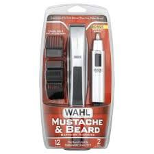Wahl Mustache and Beard Trimmer with Nose/ Ear Trimmer Model 5537-420