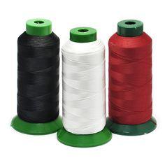 Gikfun High Tenacity Polyester Bonded Sewing Thread 150 Meters 210D/3 Diy (Pack of 3 Rolls) EK8441 ** Learn more by visiting the image link.