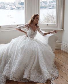 cool Модные свадебные платья (50 фото) — Каталог моделей 2017, новинки