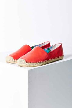 These espadrilles look comfortable AND cute! They match the coral of our 2016 flower, the flame creeper azalea.