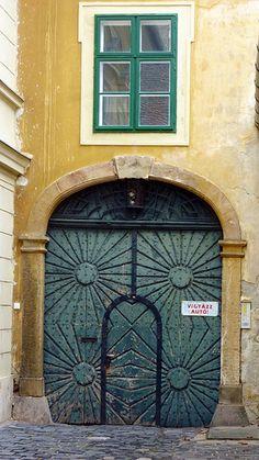 House Gate Budapest, Hungary ..rh