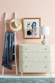 Anthropologie Ashbourne Three-Drawer Dresser #anthrofave