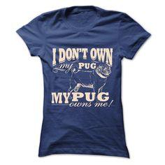 I dont own •̀ •́  my pug, my pug own ᓂ meYou can choose other Hoodies Color and T-Shirt for same design.Pug dog