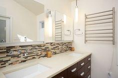 Contemporary Master Bathroom with Ceramic Tile, Undermount Sink, Master…
