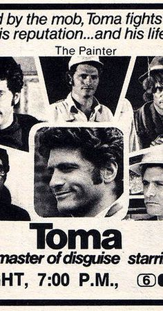 Created by Edward Hume.  With Tony Musante, Simon Oakland, Susan Strasberg, David Toma. This series Is based on the real-life story of New Jersey detective David Toma. Toma was a master of disguise and undercover work. Toma himself made a cameo appearance in many episodes.