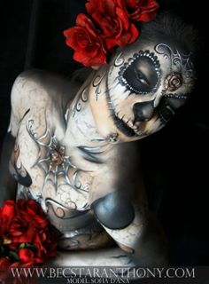 Day of the Dead makeup | Day of the Dead