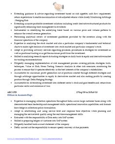 Best Resume Format for Company Secretary (Page Best Resume Format, Company Secretary, Investing, Career, Advice, Carrera, Tips