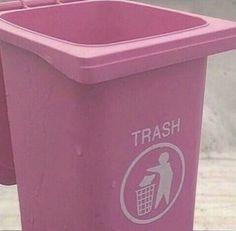 Imagem de pink, trash, and pastel