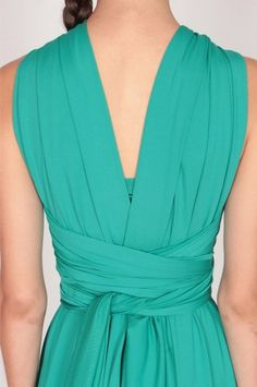 Convertible Dress, Wrap Dress, Turquoise, Dresses, Fashion, Bridesmaid Tops, Weddings, Vestidos, Moda