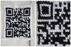 How to Crochet a QR Code That Links to Your Website