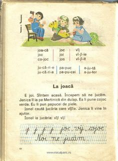 La joaca Romanian Language, Dyslexia, Kids And Parenting, Puns, Childhood Memories, Nostalgia, Classroom, Learning, School