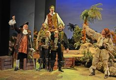 Treasure Island theater production | James Earl Adair, Alice Blundell, Dylan Kennedy, Samuel Ward-Smith ...