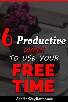 Here's 6 productive things you can do after work or in your free time instead of drinking or watching TV. Productive Things To Do, Free Time, Spiritual Awakening, You Can Do, Self Improvement, Personal Development, Productivity, Improve Yourself, Drinking